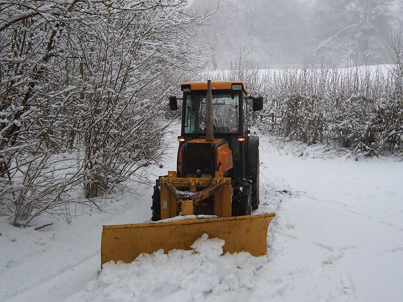 Fourayes Orchards Snow Plough